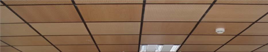 Falso techo de madera four walls Falsos techos de madera
